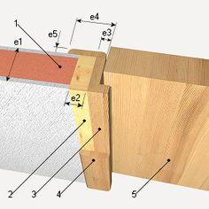 Image result for marco de puerta madera construccion