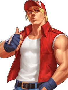 King of Fighters 98 UM OL Terry Bogard by hes6789