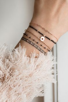 Jewelry design - Exude lively spirit with these amazing bracelets Check out BY JOHANNE! by johanne designer bracelets love combiNATIONs – Jewelry design Star Jewelry, Cute Jewelry, Jewelry Bracelets, Silver Bracelets, Diy Schmuck, Schmuck Design, Ring Armband, Armband Tattoo, Pinterest Jewelry