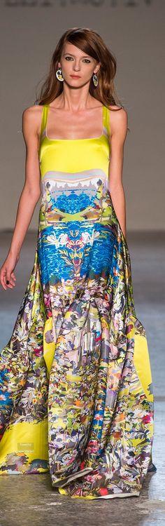 Farb-und Stilberatung mit www.farben-reich.com - Leitmotiv Spring Summer 2015 Ready-To-Wear collection