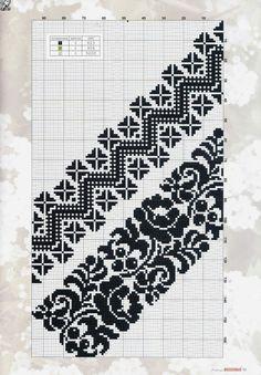 Cross Stitch Floss, Cross Stitch Patterns, Folk Embroidery, Cross Stitch Embroidery, Knitting Charts, Notebook, Diagram, Sewing, Crochet