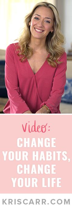 Check out my latest video! Change your habits, change your #life  #wisdom #health