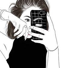 art, drawing, grunge, outline