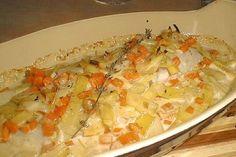Filets de poisson aux petits légumes
