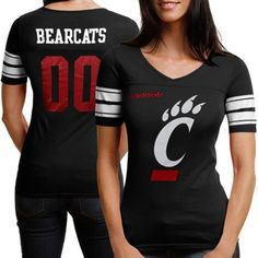 Cincinnati Bearcats Women's Football T-Shirt