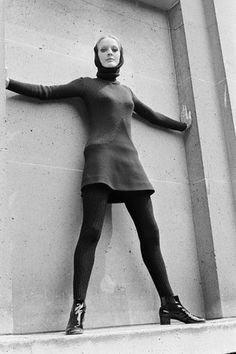 August 1969    Fashion by Pierre Cardin, Fall-Winter 1969-1970.    Image by © Apis/Sygma/Corbis