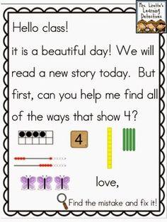 Mrs lirettes learning detectives meaningful morning messages aug meaningful morning messages for augustseptember kindergarten m4hsunfo