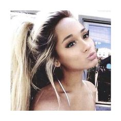 . ❤ liked on Polyvore featuring ariana grande, girls and hair