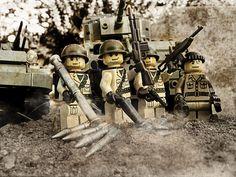 Lego brick arms