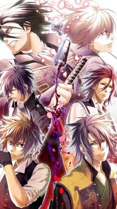 Hakuoki Hekketsuroku Blu-ray Box [w/ CD, Limited Release] Animation Blu-ray Manga Love, Anime Love, Hot Anime Boy, Anime Guys, Manga Art, Manga Anime, Tous Les Anime, Samurai Anime, Anime Ninja