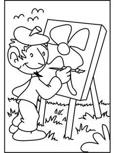 79 En Iyi Meslekler Görüntüsü Colouring Pages For Kids Coloring