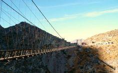 23 de los puentes más peligrosos del mundo... El #14 es francamente ATERRADOR