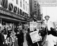 Birth of the sit-in movement, 10 years on (1970)