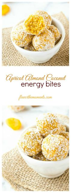 apricot-almond-coconut-energy-bites-collage | flavorthemoments.com