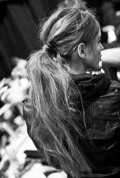The Messy Ponytail -Free People