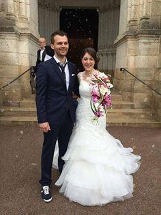 Félicitations Laetitia & Pierre ! Coiffure & Maquillage Marival Coiffure  www.lovinyoubayonne.fr #lovinyoubayonne #marivalcoiffure #mariage #bayonne