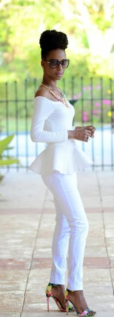 Simple White - Shades N Styles - white -- @✔ b l a c k w h i t e