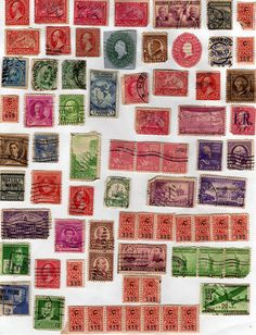 Stamps Galore I by HA! Designs - Artbyheather, via Flickr