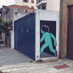 Занимательные фрески в Сан-Паулу - Все интересное в искусстве и не только.