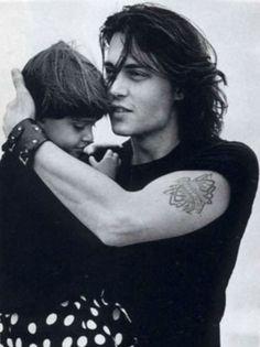 My biggest crush Johnny Depp! #men #dad #children #baby #parenting #babysdream #johnny #son