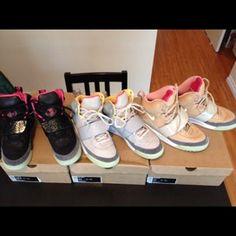 premium selection bdc55 77e3b Eugene s Yeezy 1   Yeezy 2 on SneakerWare