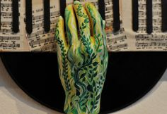 Tatoo Fine Art Manequin Hand Painted made to order