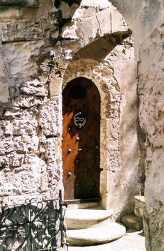 The Door - Les Baux-de-Provence, Provence-Alpes-Cote-dAzur