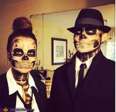 Maquillaje-calavera | Day of the dead | Pinterest | Halloween costumes Halloween makeup and Halloween ideas & Maquillaje-calavera | Day of the dead | Pinterest | Halloween ...