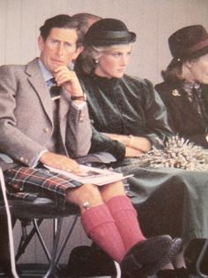 September 3, 1983: Prince Charles & Princess Diana during the annual Braemar Highland Games in Aberdeenshire, Scotland.
