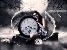 Broken Time Photoshop Manipulation