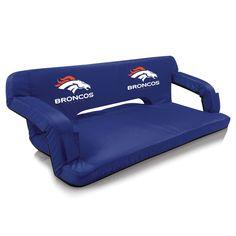 Denver Broncos Reflex Travel Couch