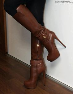 I Like high heels,women& fashion shoes,Get it now! High Heel Boots, Heeled Boots, Bootie Boots, Ankle Boots, Dream Shoes, Me Too Shoes, Cute Boots, Sexy Boots, High Heels