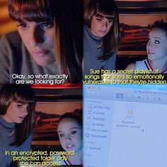 "#Glee 6x05 ""The Hurt Locker, Part two"" - Rachel and Kitty"
