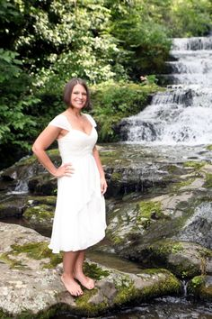 Adriennes Mullins' Wedding Dress from her wedding in Tennessee in June 2013! Read her review and see more pictures here: http://www.outerinner.com/blog/2013/07/26/adrienne-mullins-wedding-dress-review/ #outerinner #weddingdress #outerinnerreviews #bridalwear #wedding