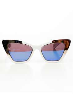 Our Exclusive Designer Discount You Can Use, Too #refinery29  http://www.refinery29.com/les-nouvelles-discount#slide1  Karen Walker Siouxsie Sunglasses, $224 with code R29LOVE (originally $280), available at Les Nouvelles.