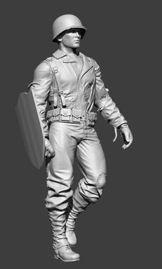 Universal soldier, for production in 1/35 scale (3D work)