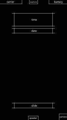 ↑↑TAP AND GET THE FREE APP! Lockscreens Art Creative Black White Minimalism HD iPhone 6 Lock Screen