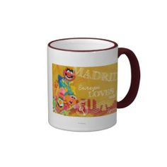 The Muppets - Madrid, Spain Poster Coffee Mugs Muppets Most Wanted, Kermit The Frog, Favorite Color, Dinnerware, Madrid, Coffee Mugs, Beverages, Spain, Cakes