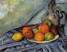 Fruit and a Jug on a Table Artist: Paul Cézanne Period: Post-Impressionism Genre: Still life Henri Matisse, Cezanne Art, Paul Cezanne Paintings, Cezanne Still Life, Maurice Denis, Still Life Artists, Post Impressionism, Paul Gauguin, Museum Of Fine Arts
