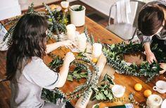 Wreath brunch. Love that idea.!!!  Rebekka Seale art & illustration
