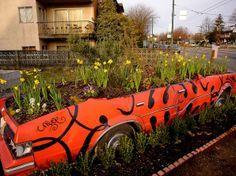 old car gardens - Google Search