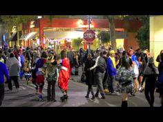 Halloween, Downtown Santa Cruz