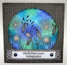 Today we have a cards from Kim inspired by our sketch     Kim has used one of Jane's Clear Magic stamps Whimsical Flower - Sally Anne ...