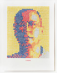 Cross-stitched art - Evelin Kasikov