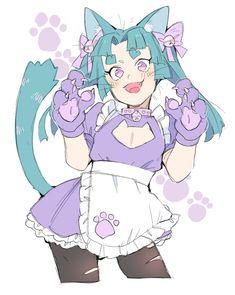 "cocksleeve clown zone on Twitter: ""cat day....… "" Liar Game, Character Art, Character Design, Trash Art, Anime Poses, Kawaii Drawings, Manga Games, Kawaii Anime Girl, Creature Design"