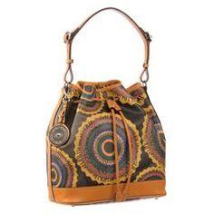 Ripani Time 0208rr Signature Shoulder Drawstring Bag Canvas Bags Clothes Satchel