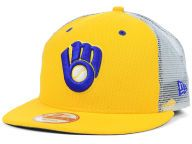 Find the Milwaukee Brewers New Era Yellow New Era MLB Diamond Mesh 9FIFTY Snapback Cap & other MLB Gear at Lids.com. From fashion to fan styles, Lids.com has you covered with exclusive gear from your favorite teams.