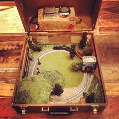 Suitcase Model Railroad