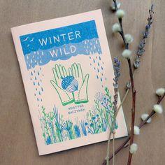 Winter Wild - Plant Zine Comic