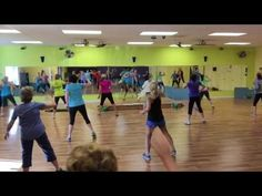 Zumba and Zumba Gold Toning Warm Up: Dancing on the Ceiling - YouTube